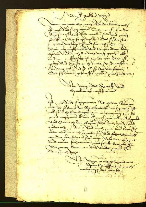 Civic Archives of Bozen-Bolzano - BOhisto Minutes of the council 1477
