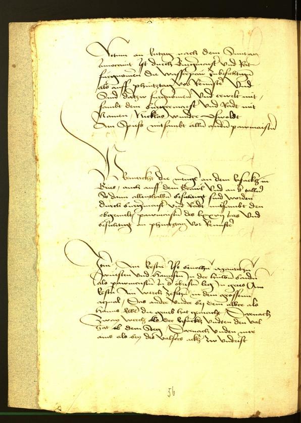 Stadtarchiv Bozen - BOhisto Ratsprotokoll 1477