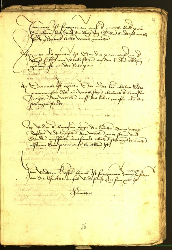 Civic Archives of Bozen-Bolzano - BOhisto Minutes of the council 1477