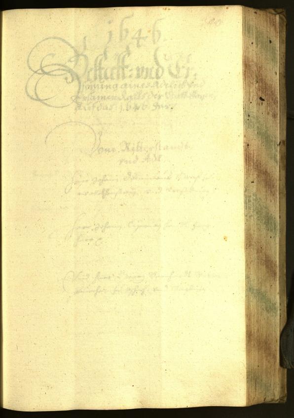 Archivio Storico della Città di Bolzano - BOhisto protocollo consiliare 1645