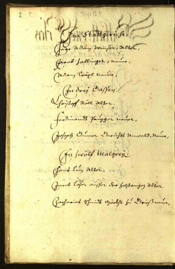 Civic Archives of Bozen-Bolzano - BOhisto Minutes of the council 1645