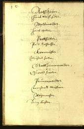 Civic Archives of Bozen-Bolzano - BOhisto Minutes of the council 1645 -