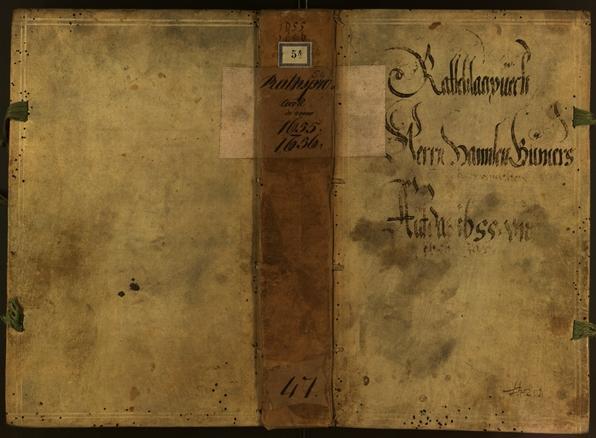 Civic Archives of Bozen-Bolzano - BOhisto Minutes of the council 1655