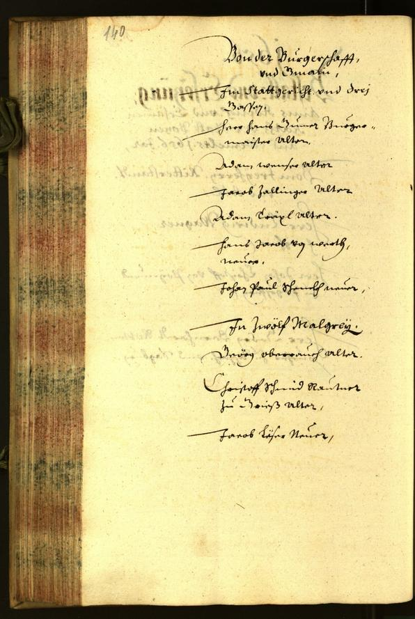 Civic Archives of Bozen-Bolzano - BOhisto Minutes of the council 1656