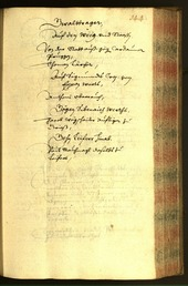 Civic Archives of Bozen-Bolzano - BOhisto Minutes of the council 1656 -