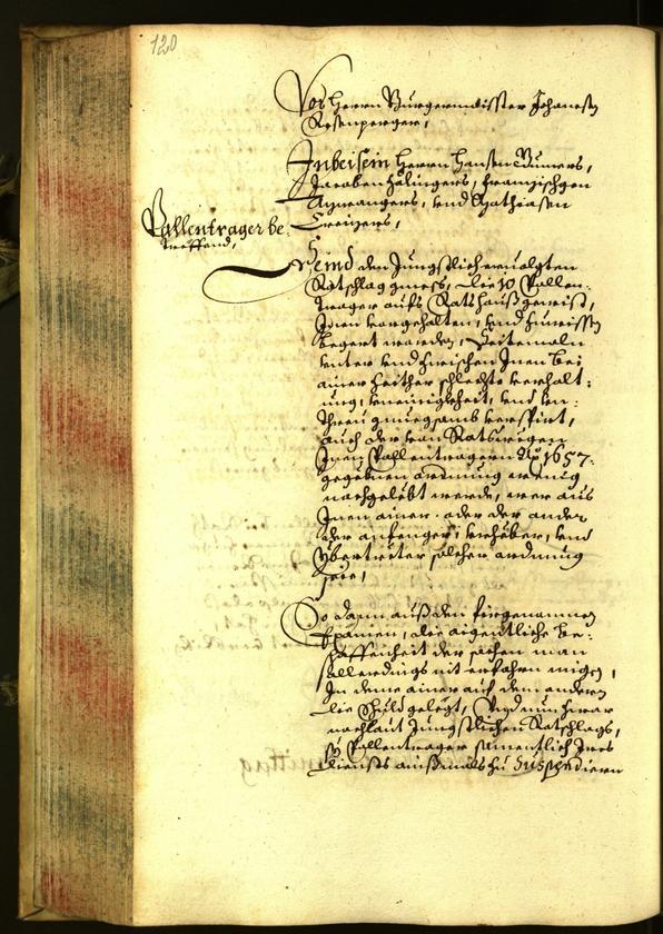 Archivio Storico della Città di Bolzano - BOhisto protocollo consiliare 1662