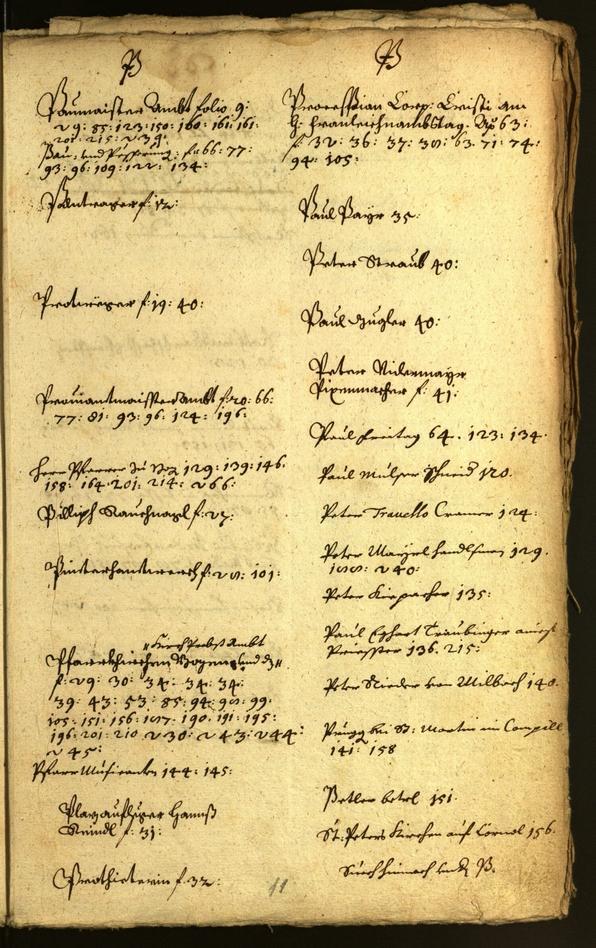 Stadtarchiv Bozen - BOhisto Ratsprotokoll 1663/64