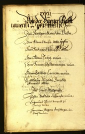 Civic Archives of Bozen-Bolzano - BOhisto Minutes of the council 1663 -
