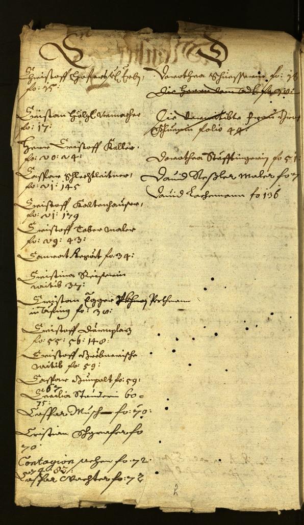 Civic Archives of Bozen-Bolzano - BOhisto Minutes of the council 1664/65