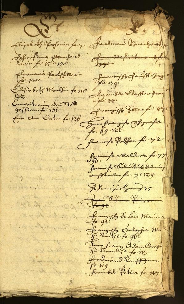 Stadtarchiv Bozen - BOhisto Ratsprotokoll 1664/65