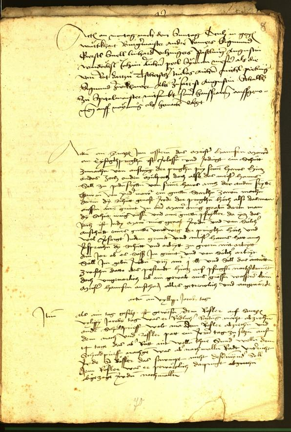 Civic Archives of Bozen-Bolzano - BOhisto Minutes of the council 1479