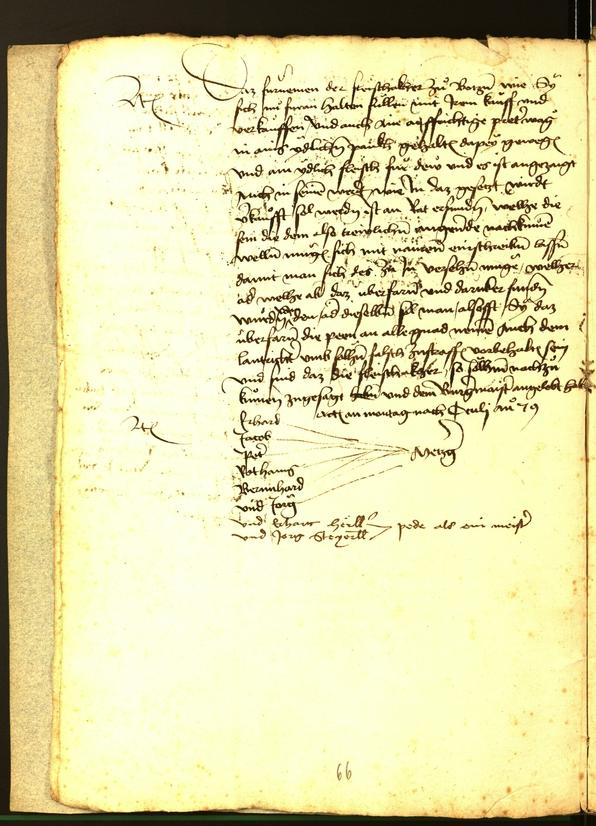 Civic Archives of Bozen-Bolzano - BOhisto Minutes of the council 1479
