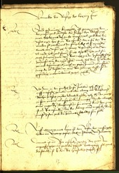 Civic Archives of Bozen-Bolzano - BOhisto Minutes of the council 1479 -