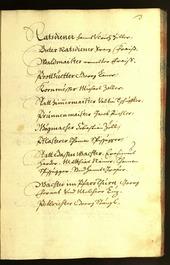 Stadtarchiv Bozen - BOhisto Ratsprotokoll 1667 -