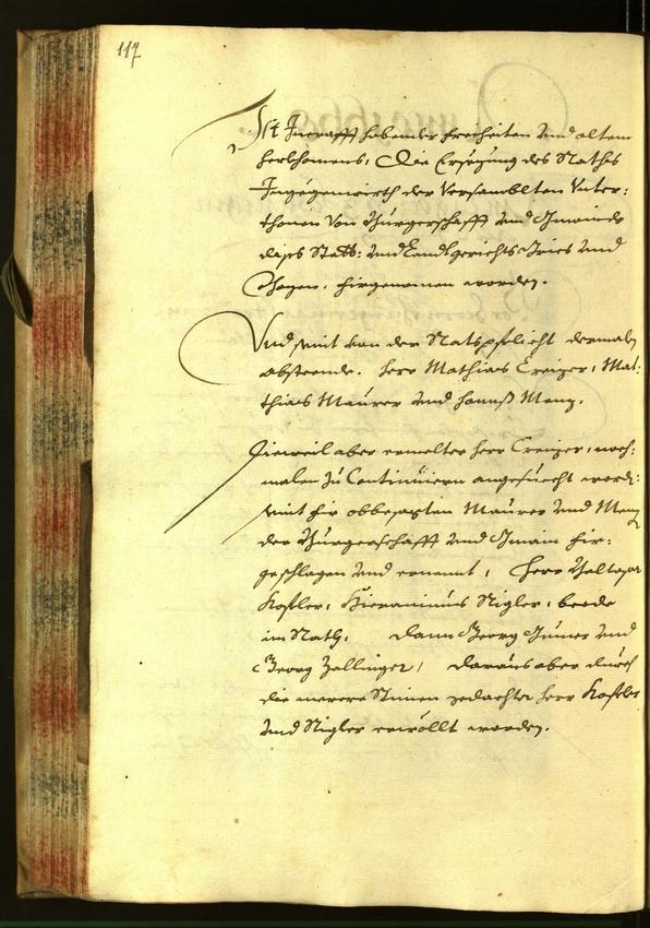 Civic Archives of Bozen-Bolzano - BOhisto Minutes of the council 1668