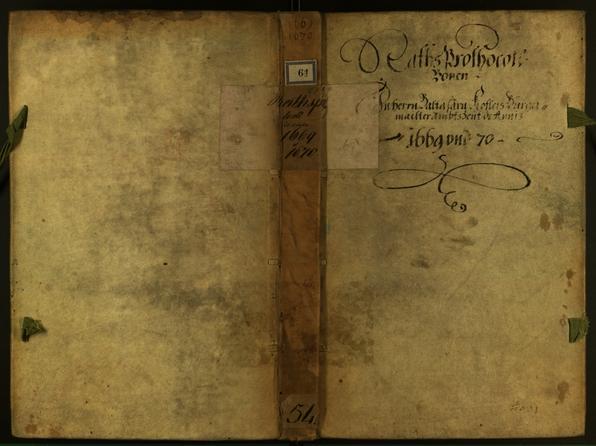 Civic Archives of Bozen-Bolzano - BOhisto Minutes of the council 1669