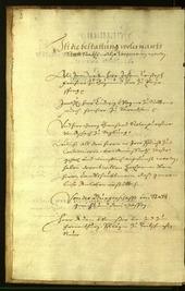Stadtarchiv Bozen - BOhisto Ratsprotokoll 1669 -