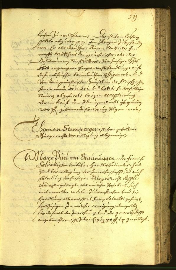Stadtarchiv Bozen - BOhisto Ratsprotokoll 1672