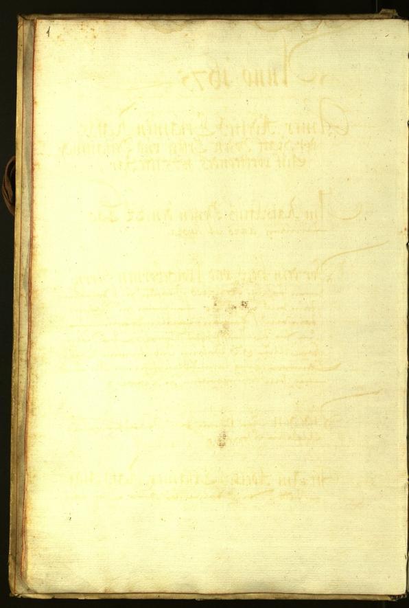 Stadtarchiv Bozen - BOhisto Ratsprotokoll 1675