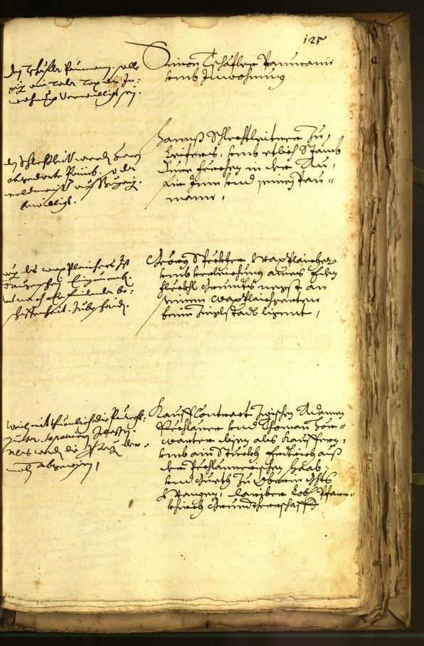 Stadtarchiv Bozen - BOhisto Ratsprotokoll 1678