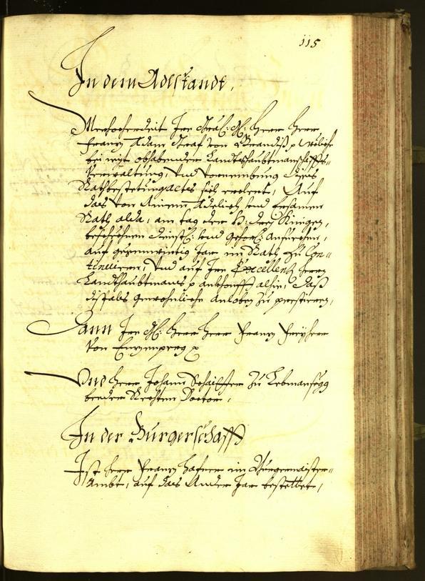 Civic Archives of Bozen-Bolzano - BOhisto Minutes of the council 1680