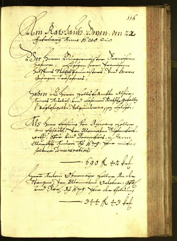 Civic Archives of Bozen-Bolzano - BOhisto Minutes of the council 1680