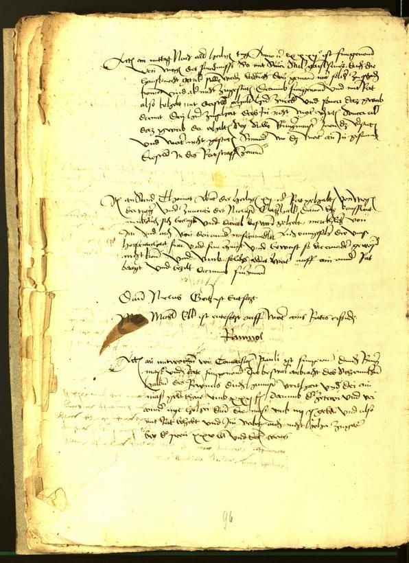 Stadtarchiv Bozen - BOhisto Ratsprotokoll 1482