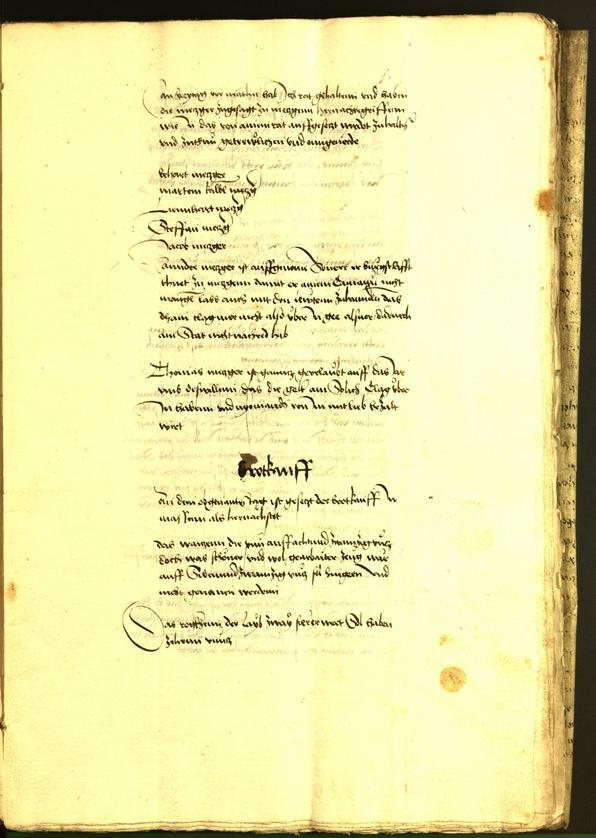 Archivio Storico della Città di Bolzano - BOhisto protocollo consiliare 1492