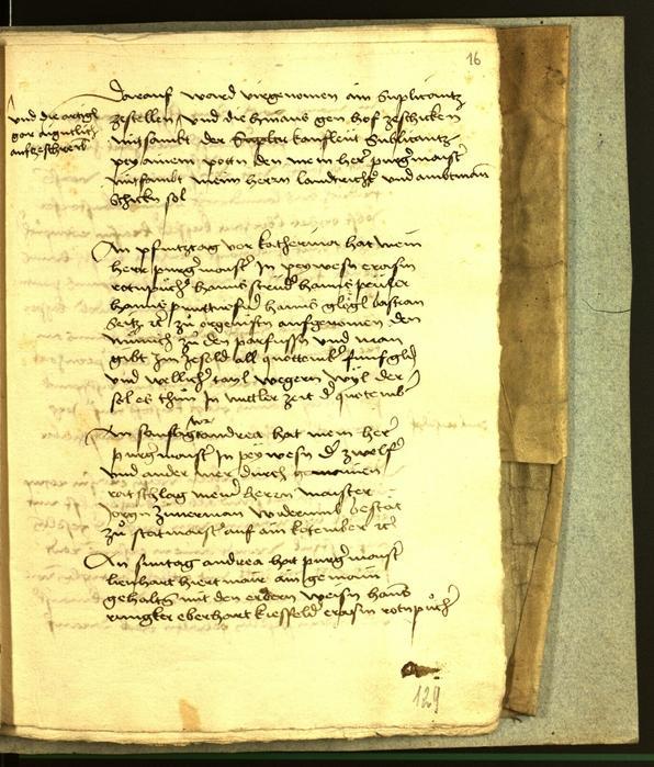 Archivio Storico della Città di Bolzano - BOhisto protocollo consiliare 1506
