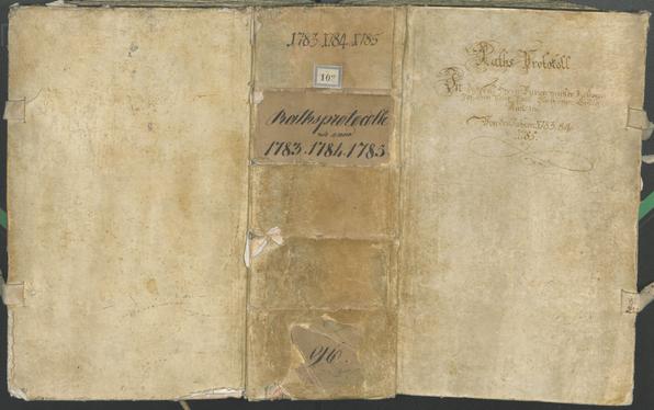 Civic Archives of Bozen-Bolzano - BOhisto Ratsprotokoll 1783/85