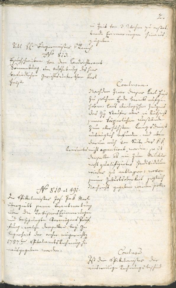 Civic Archives of Bozen-Bolzano - BOhisto Ratsprotokoll 1789