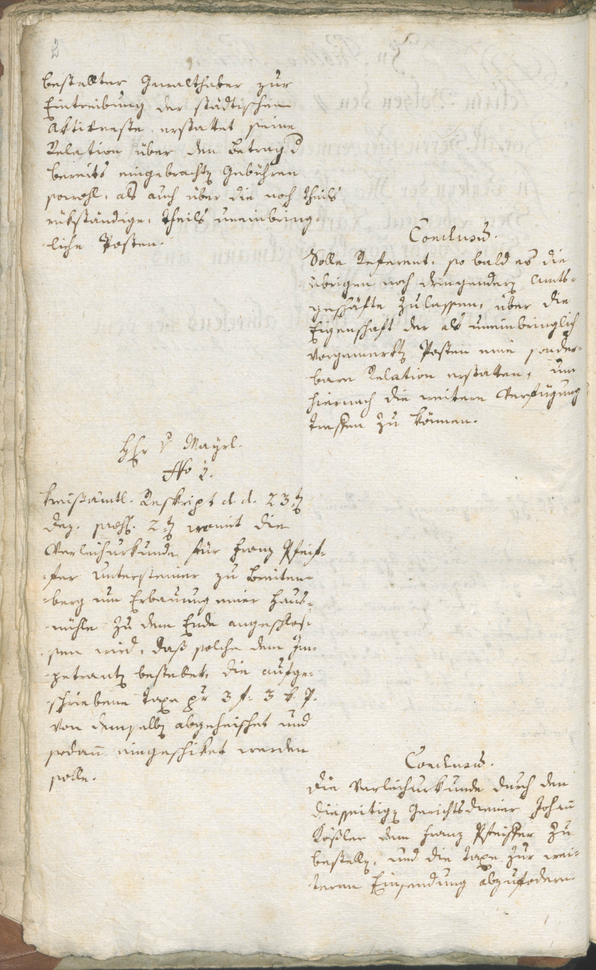 Civic Archives of Bozen-Bolzano - BOhisto Ratsprotokoll 1790