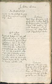 Stadtarchiv Bozen - BOhisto Ratsprotokoll 1790 -
