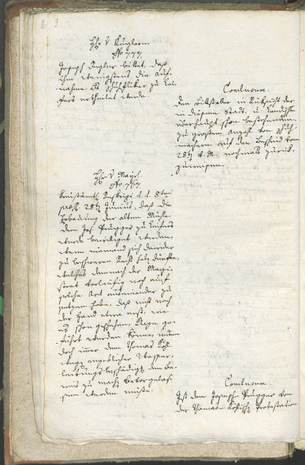 Civic Archives of Bozen-Bolzano - BOhisto Ratsprotokoll 1792