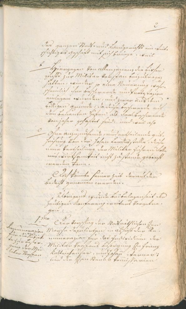 Stadtarchiv Bozen - BOhisto Ratsprotokoll 1797