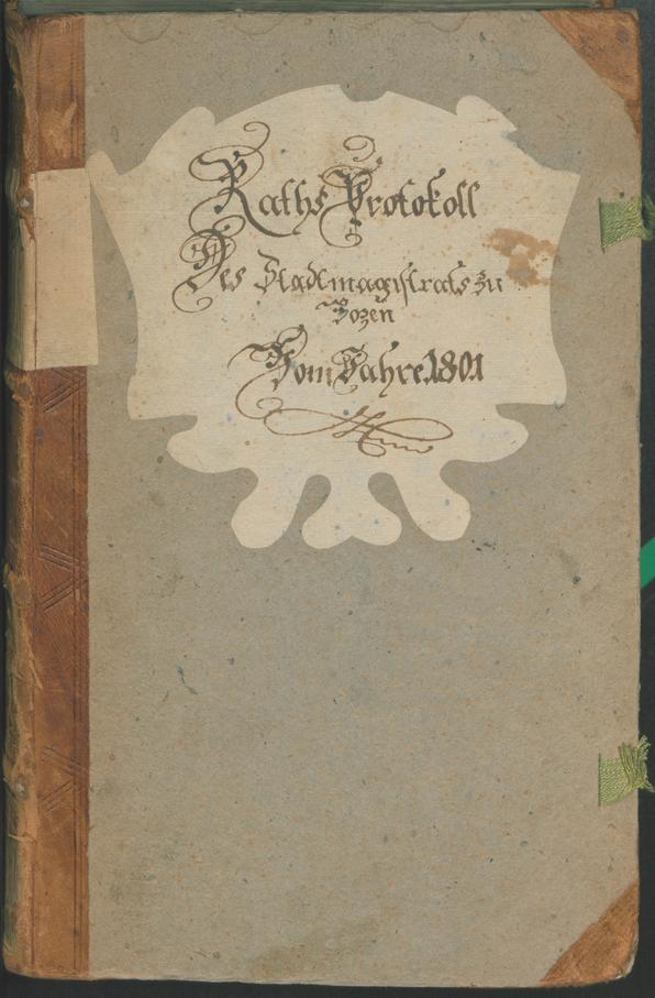 Archivio Storico della Città di Bolzano - BOhisto protocollo consiliare 1801