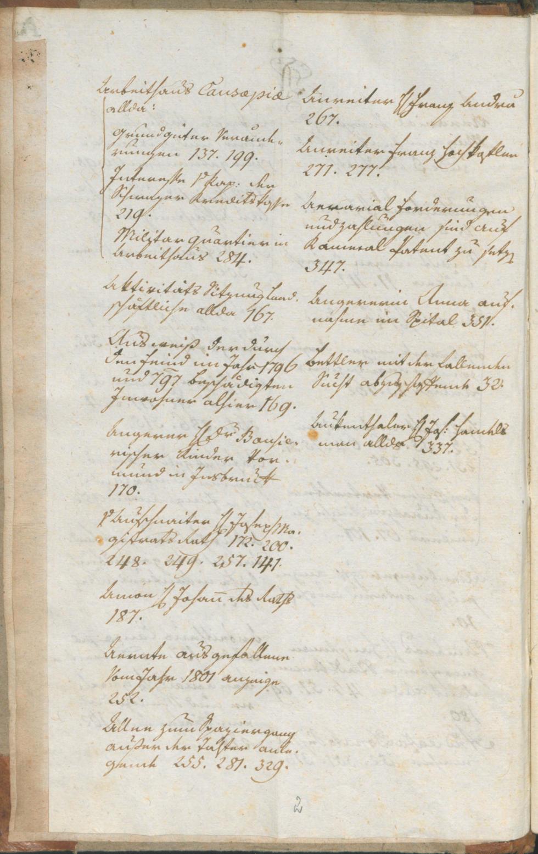 Civic Archives of Bozen-Bolzano - BOhisto Ratsprotokoll 1801