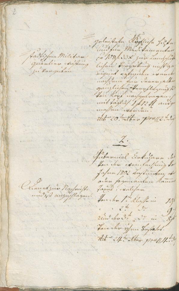 Stadtarchiv Bozen - BOhisto Ratsprotokoll 1803