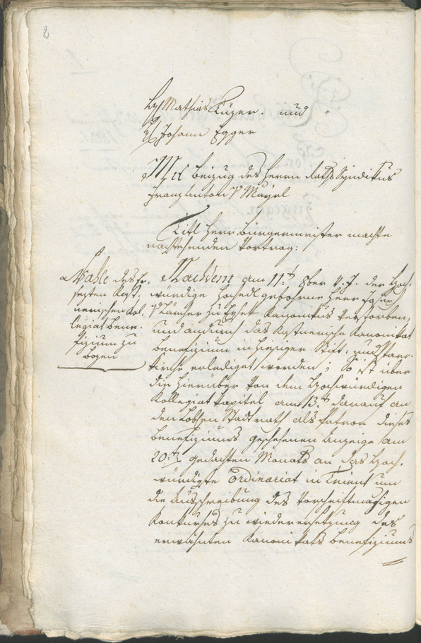 Stadtarchiv Bozen - BOhisto Ratsprotokoll 1805