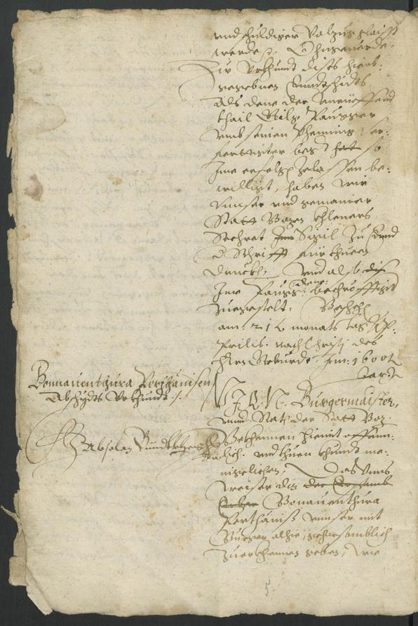 Stadtarchiv Bozen - BOhisto Ratskopeibuch 1600/04