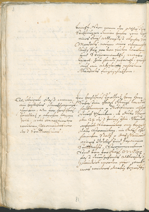 Civic Archives of Bozen-Bolzano - BOhisto Ratsprotokoll 1705/08