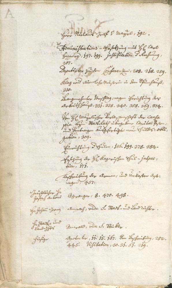 Civic Archives of Bozen-Bolzano - BOhisto Ratsprotokoll 1768/71