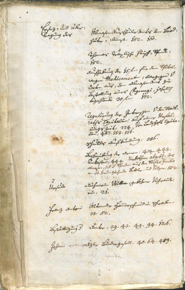 Archivio Storico della Città di Bolzano - BOhisto protocollo consiliare 1771/74